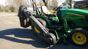 John Deere Grass Bagger / Collection System