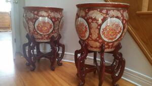 Pair of chinese vase
