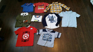 9 Boys Shirts in 2T to 4T Sizes - $20 for all