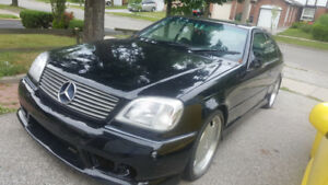 MERCEDES BENZ 1998 COUPE FULLY LOADED TWO DOOR