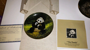 """Will Nelson """"The Panda"""" Collectable Plate"""