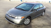 2008 Honda Civic, auto, only 122,000, Remote Starter, WARRANTY