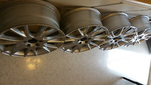 17 inch original volvo mags(7j×17 ET40)for sale $520 Nego.5×108