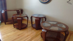 Coffee Tables, End Tables and Sofa Table