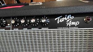 Amplicateur de Guitare Fender Twin Amp Usagé