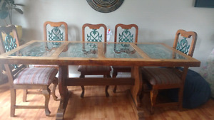 Handcrafted Dining table set