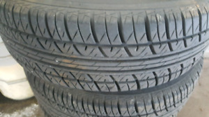 185/65r15 like new tires for sale