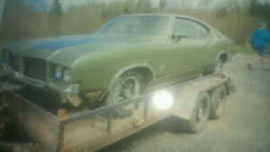 1972 Oldsmobile Cutlass & 1971 Buick GS body