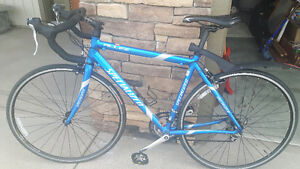 Specialized Allez A1 Max and cleats