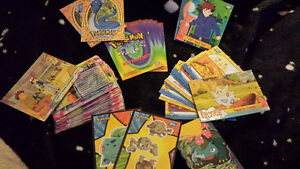 vintage pokemon movie/tv cards