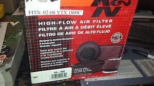 K&N High Flow Air Filter - 2002 - 2008 Honda VTX 1800
