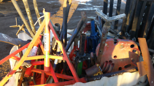 Rigid pipe stands