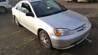 2001 Honda Civic Si Coupe (2 door) (Low kms)