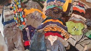 Large Lot of Boys 18-24 months clothes