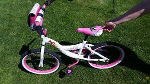 Girls princess bike