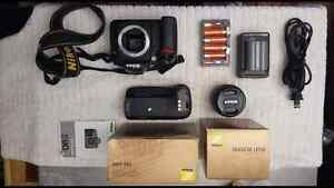 Nikon D90 with lens and accessories