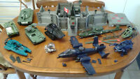 GI Joe Vehicle Lot - 16 Total from 1982-1986