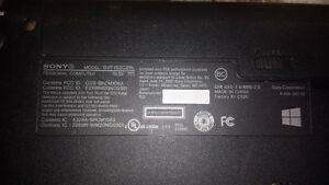 Sony vaio for parts obo