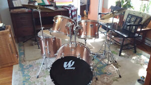 Westbury drums like-new condition West Island Greater Montréal image 2