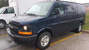 2011 Chevrolet express 2500 cargo  w/2 side doors