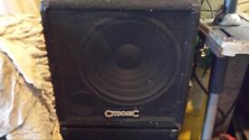 Cinetron sub speakers