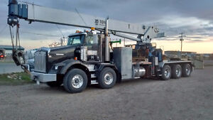 Picker/crane truck owner operated