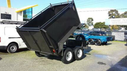 FROM ONLY $209 P/MONTH ON FINANCE* 8x5 BOX TIPPER WITH RAMPS
