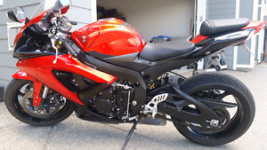 REDUCED 5000 $$ 2009 gsxr600 12000 km