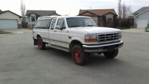 Two Ford 7.3L Turbo Diesel Trucks for sale