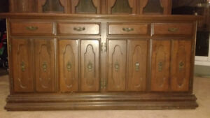 Vilas Solid Maple Buffet and Hutch