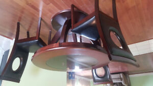 Dinning table with three chair for sale