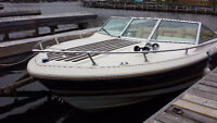 BOAT 160 HP 3.8 ENGINE V-HULL & TRAILER FOR SALE Watch|Share |Pr