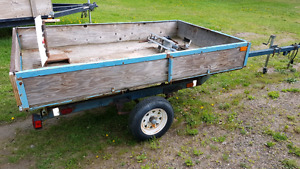 Upgraded Boat trailer with utility box