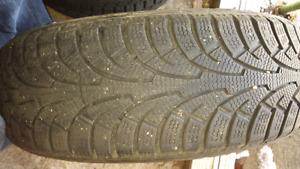2 used royelo winter tires