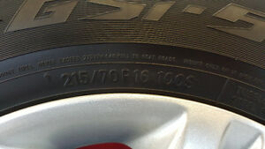 4 Toyo Tires and Rims Regina Regina Area image 4