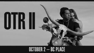 OTR II Jay-Z and Beyonce Tickets for Sale