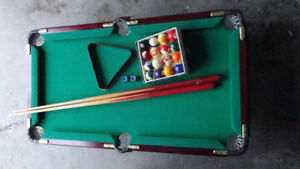 Mini Pool Table with Accessories