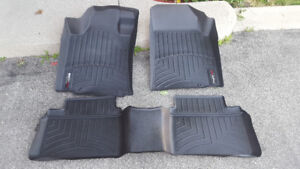 WeatherTech liners for Altima 2014 and 2015 (Front and back)