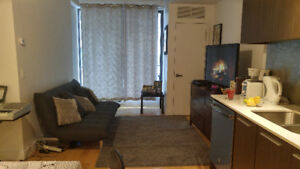 To sublet modern Condo NEXT to Metro station, park, Little Italy