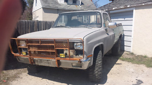 1982 K10 project