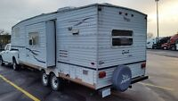 2002 25' JAYCO 5TH WHEEL FOR HALF TON! SLIDE, NO WATER DAMAGE