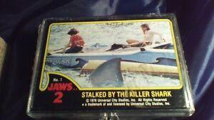 Desert Storm, Jaws 2 and Jaws 3D Trading Cards Complete Sets Stratford Kitchener Area image 3