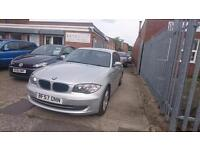 2007 / 57 BMW 1 Series 2.0 118d SE 5 Door Automatic Full MOT+Full History+Warran