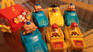 Vintage Figurines Voiture Figures Car McDonald's 1985-88