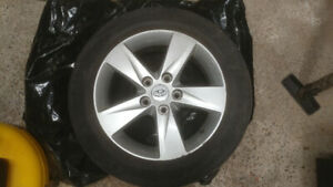 Bridgestone Turanza 205/55R16 tires on Mag rims
