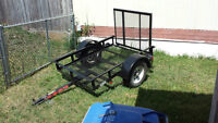 2009 Stirling 4x6 Utility Trailer