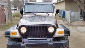 PRICE REDUCED!!!!  2004 Jeep Wrangler Unlimited