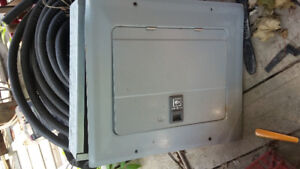 Electrical Panel and cable for wires