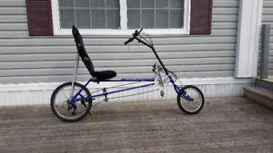 Recumbent bike - excellent condition