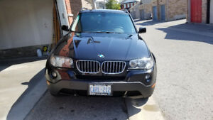 2008 BMW X3 SUV 97,000km with Sunroof